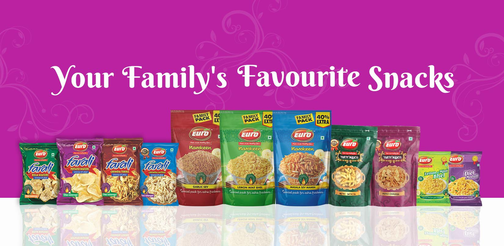 Your family's favourite snacks